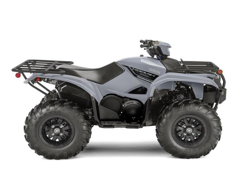 2018 Yamaha Kodiak 700 EPS Armor Grey in Shreveport, LA