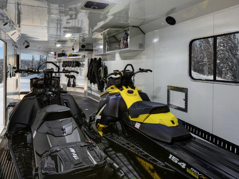 Snowmobile Trailers and Accessories | C&R Auto and Trailer