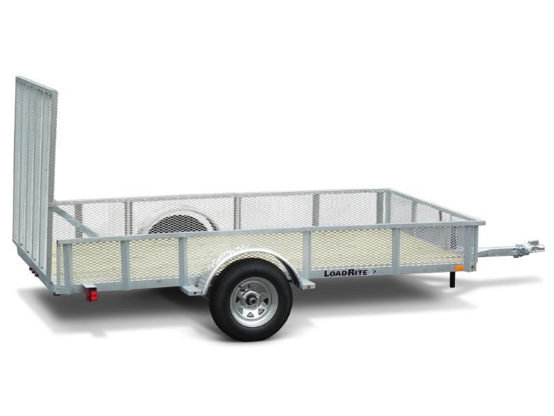2019 Load Rite Galvanized Frame Mesh Side Utility Trailers UT6510MS ...