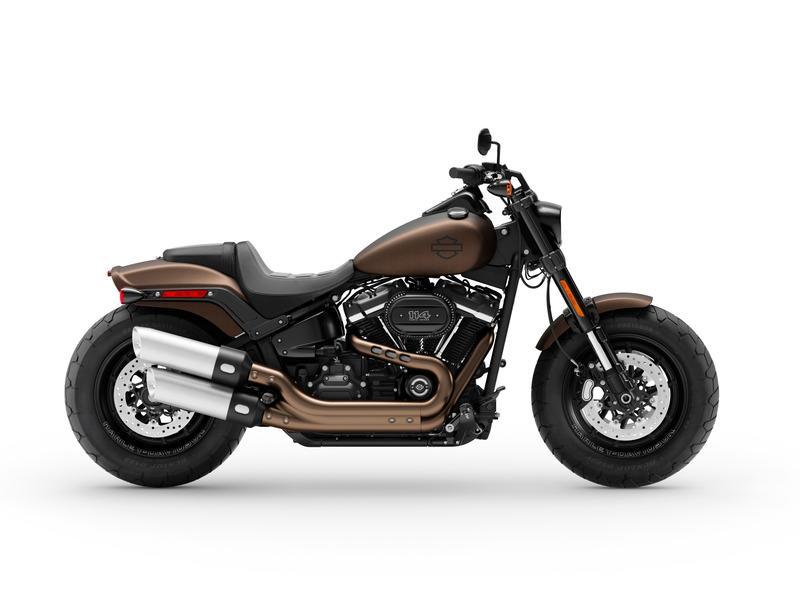 New 2019 Harley-Davidson Fat Bob 114