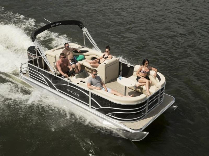Sylvan Pontoon Boats For Sale Michigan Sylvan Pontoons