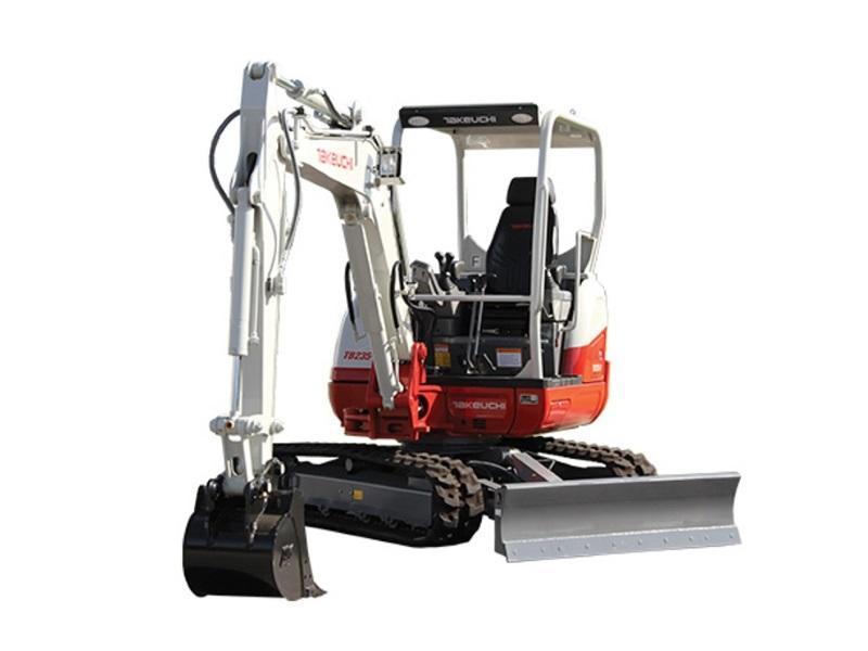 2018 Takeuchi Excavator Tb235 2 600129a Star Equipment Ltd