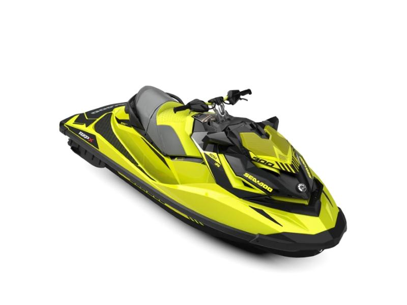 2019 Sea-Doo RXP®-X® 300 Neon Yellow and Lava Grey | Cowtown