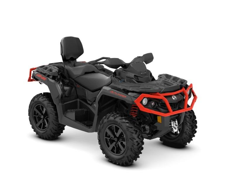 2019 Can-Am® Outlander™ MAX XT™ 650 Black & Can-Am Red ...