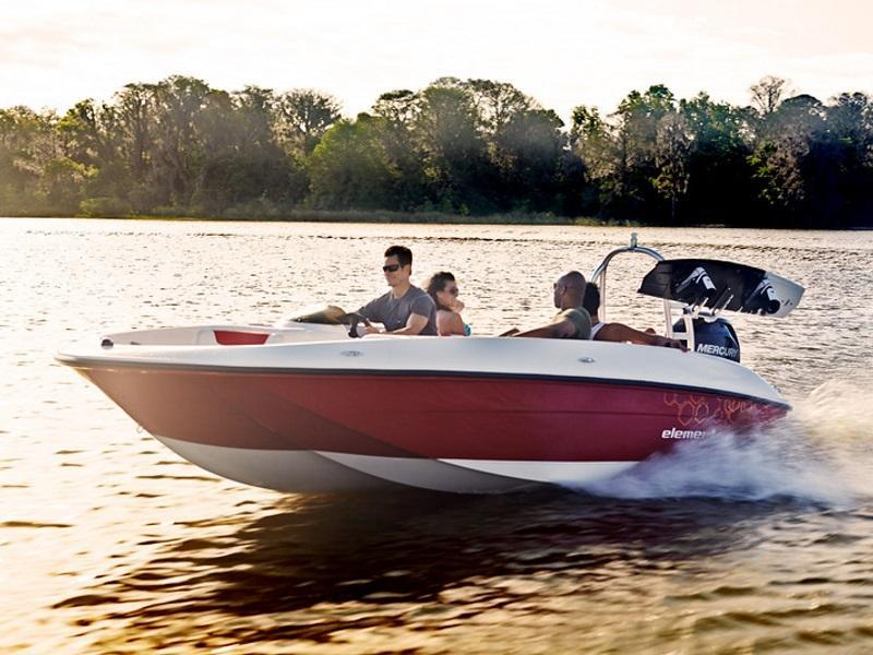 2019 Bayliner Element E18 Stock: B4463 | LMC Marine Center