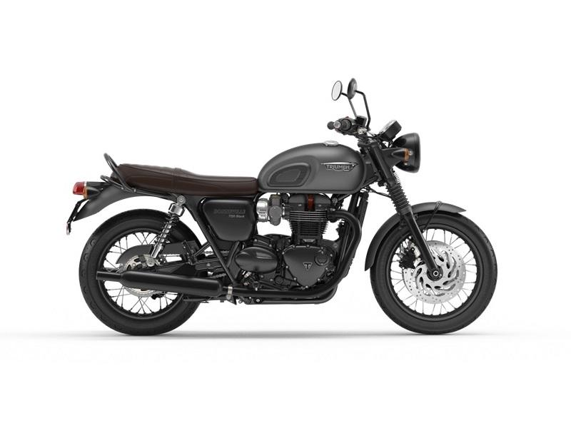 2019 Triumph Bonneville T120 Black Matte Graphite The Motorcycle Shop