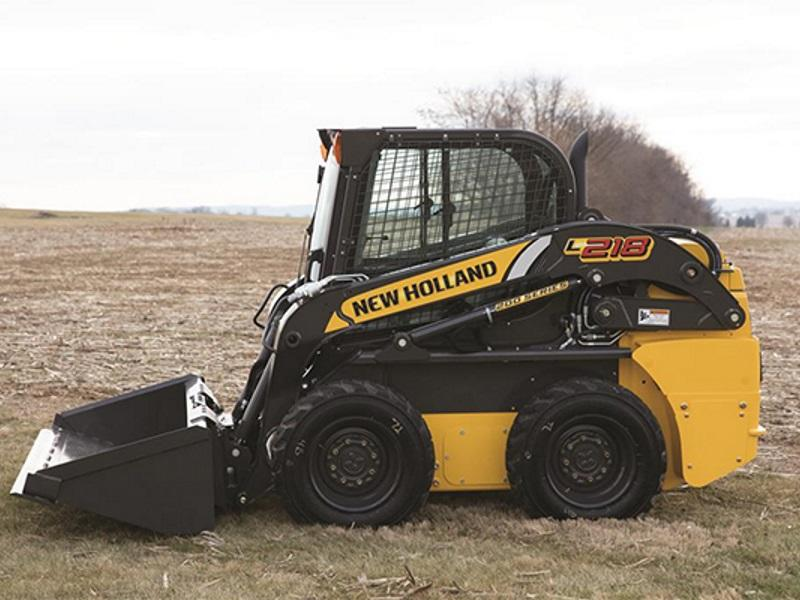 2019 New Holland Construction Skid Steer Loaders L218 | S&H