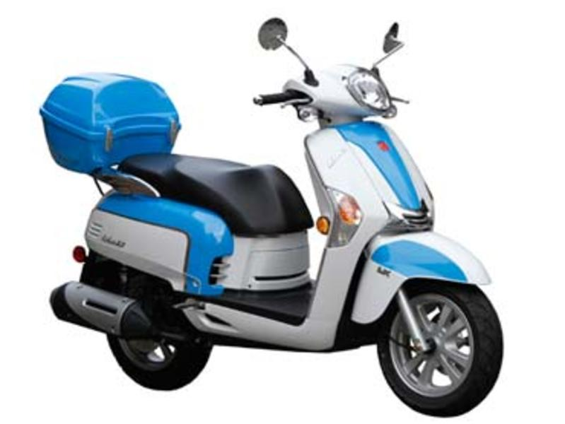 2013 KYMCO Like 50 2T LX Stock: | Solano Cycle