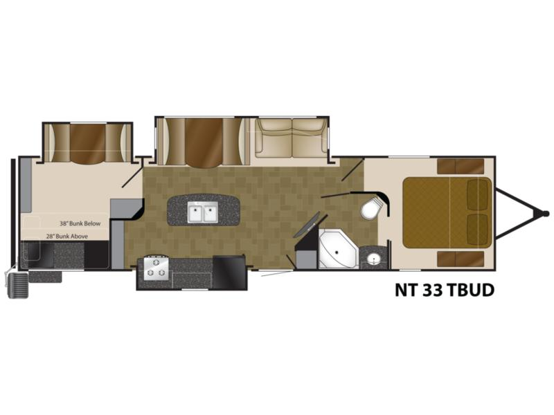 2013 Heartland North Trail King Slides NT KING 33TBUD | Lafayette
