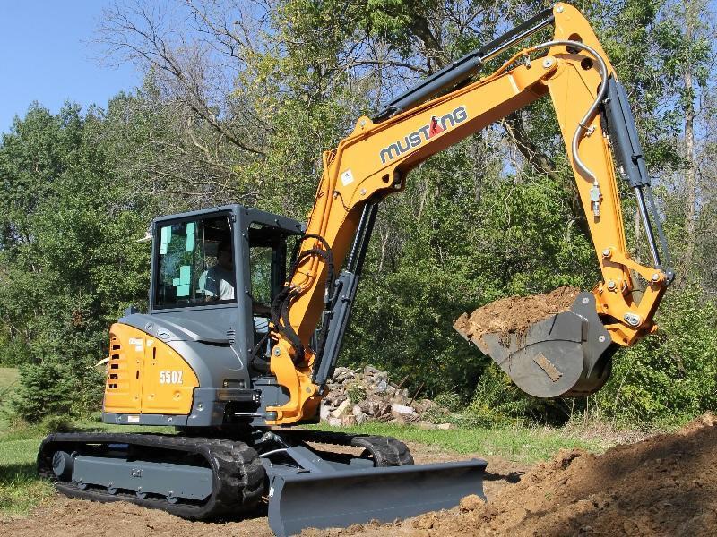 2019 Mustang Excavators 550Z | Town & Country Tractors, Inc