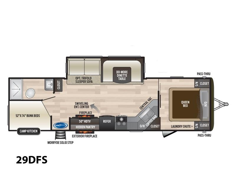 2020 Keystone RV Hideout 29DFS Stock: 33554 | Ron Hoover RV