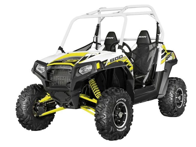 2014 Polaris® RZR® S 800 EPS White Lightning LE Stock