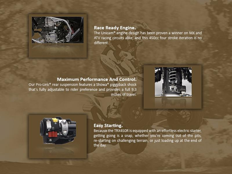 2014 Honda® TRX450R | Cool Springs Powersports
