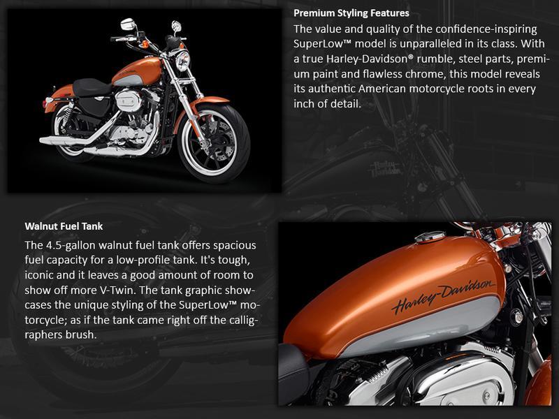 2014 Harley-Davidson® Sportster® SuperLow®   Orlando Harley-Davidson®