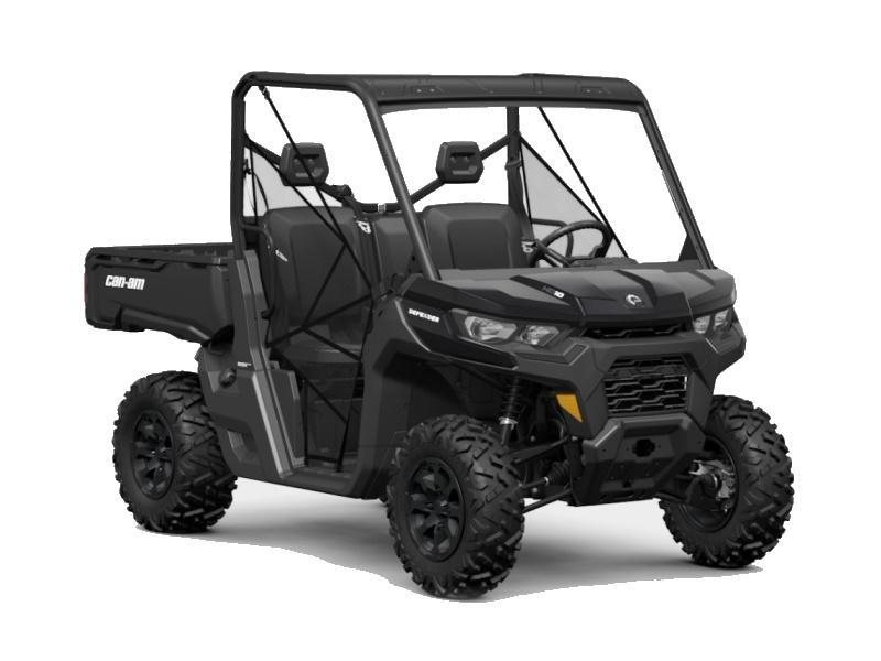 2021 Can-Am® Defender DPS HD10 Triple Black   PARCS ...