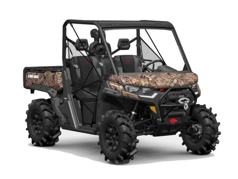 2021 Can-Am® Defender X mr HD10 Mossy Oak Break-Up Country ...
