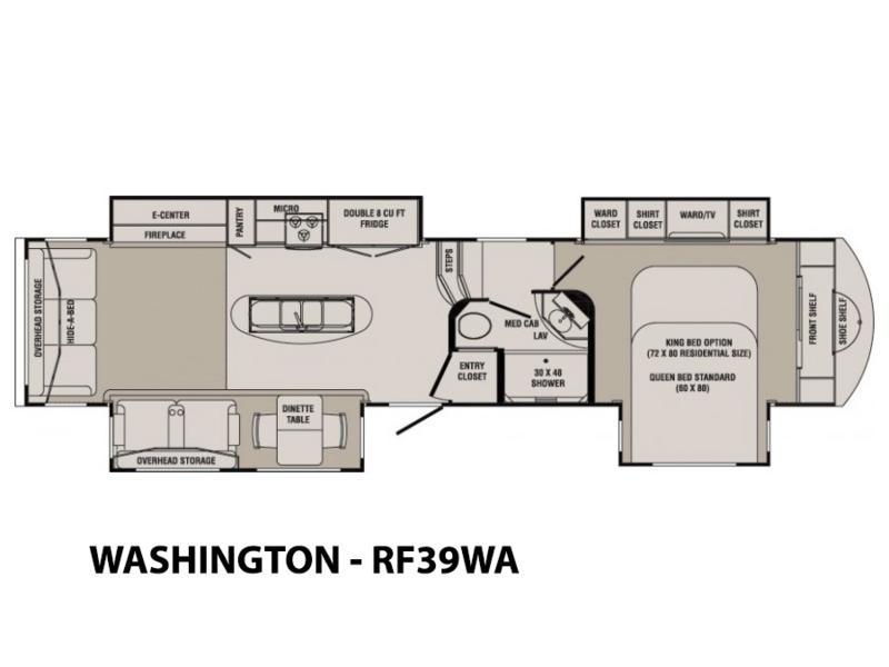 2014 CrossRoads RV Rushmore WASHINGTON - RF39WA | Brown\'s Leisure ...