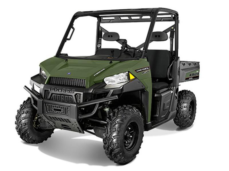 2014 polaris ranger diesel hst sage green lake country motorsports. Black Bedroom Furniture Sets. Home Design Ideas