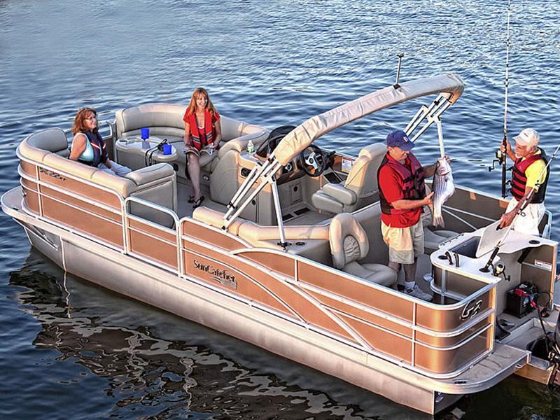 Used Pontoon Boats For Sale Hackensack Mn Used Pontoon Dealer