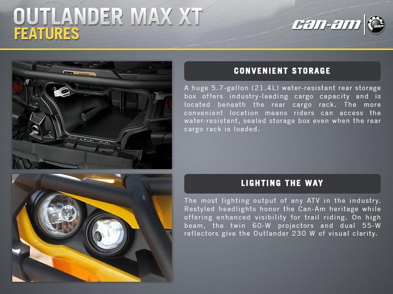 2015 Can-Am® Outlander™ MAX™ XT™ | KM Cycle & Marine