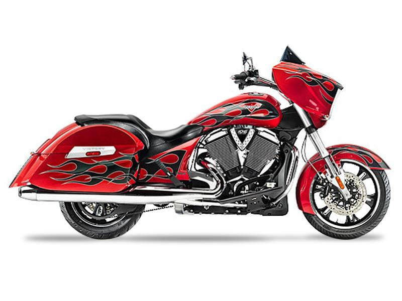 2015 Victory Motorcycles® Cross Country™ Havasu Red with