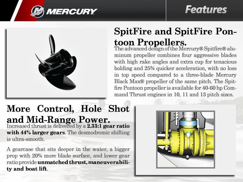 2015 Mercury Marine® 40 hp | Chesapeake Whalertowne