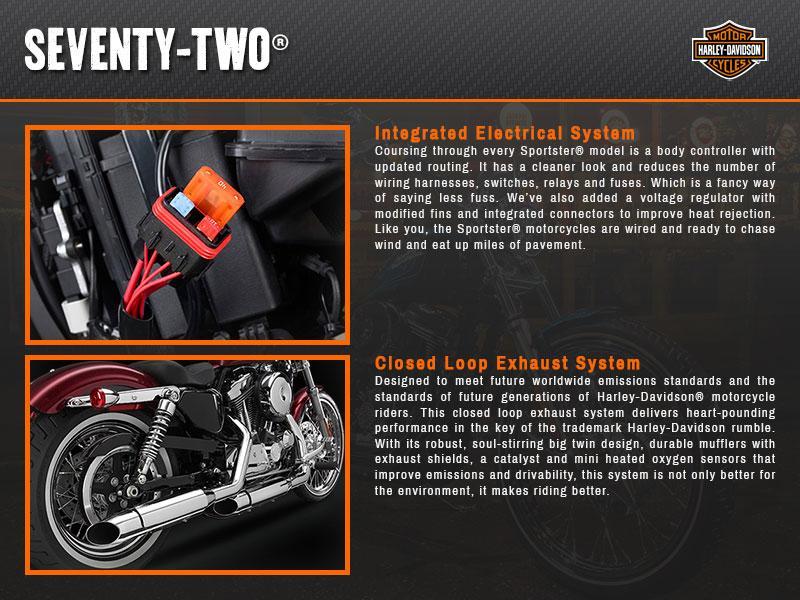 2015 Harley-Davidson® XL1200V Sportster® Seventy-Two