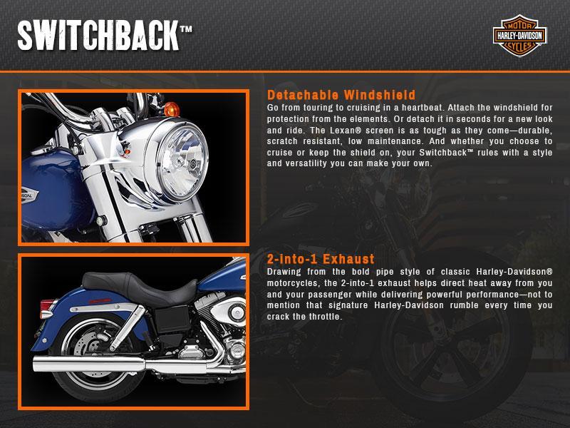 2015 Harley-Davidson® Dyna® Switchback™ | Eisenhauer's Tioga