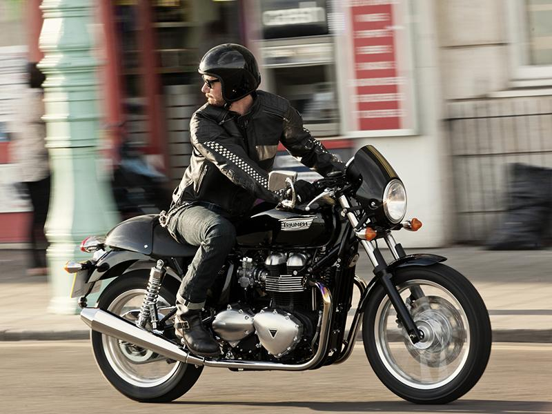 triumph thruxton motorcycles for sale in seattle wa. Black Bedroom Furniture Sets. Home Design Ideas