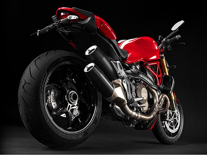 2015 Ducati Monster 1200 S Stripe Red White Stripes