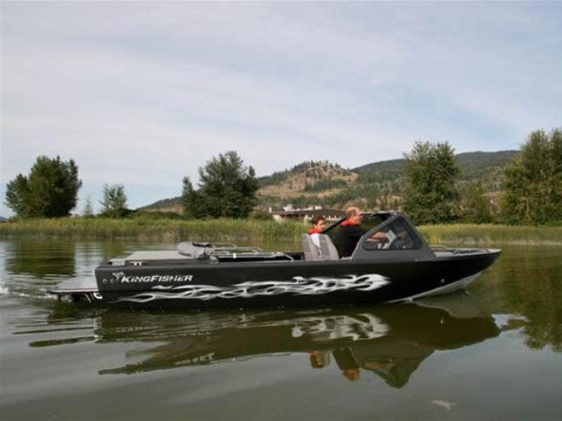 Used KingFisher Extreme Duty Jet Boats For Sale in Gibbons