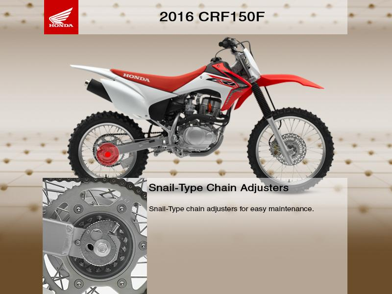 2016 Honda® CRF150F | Powersports East