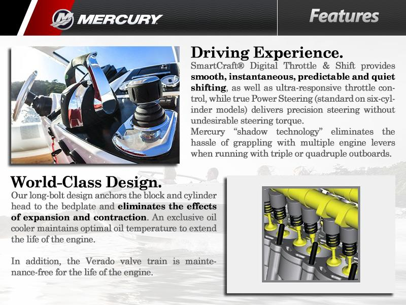 2016 Mercury Marine® Four-Cylinder | LMC Marine Center
