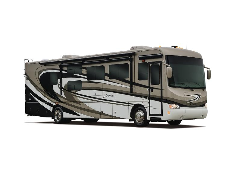 New   Used RVs  Motorhomes  and Trailers For Sale serving Wisconsin and Ohio. Forest River Berkshire XLT Motorhomes For Sale in Elkhart  Indiana