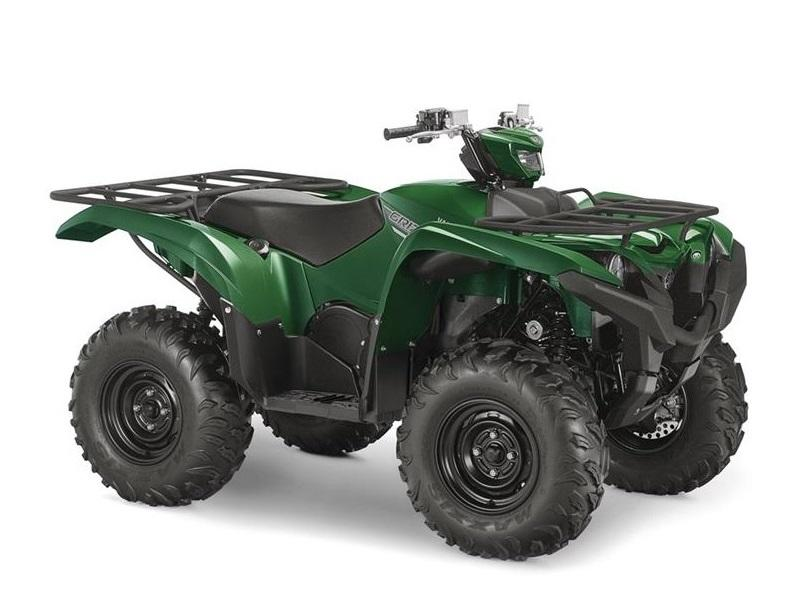2017 yamaha grizzly eps hunter green stock 103734 lake for Yamaha grizzly 800