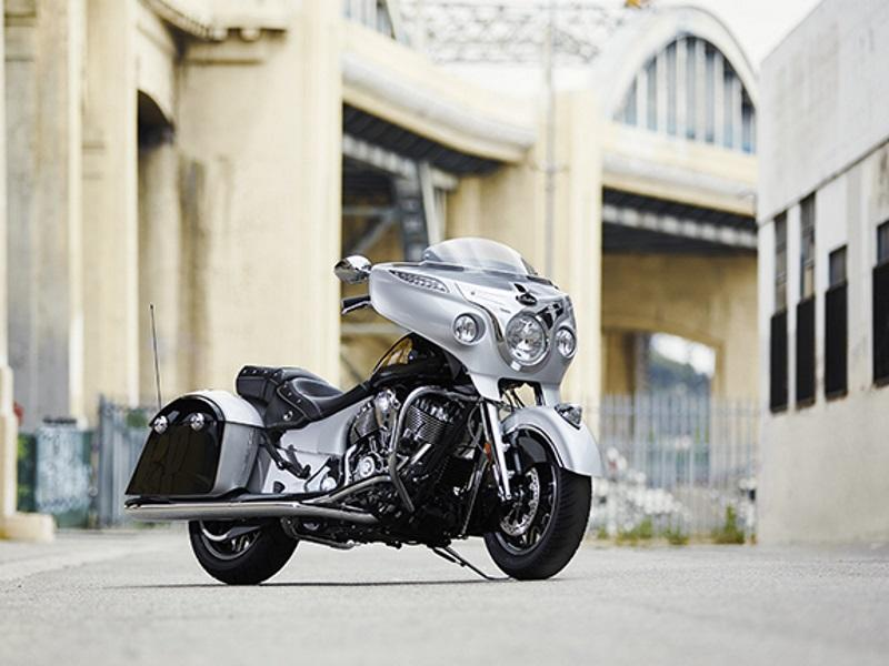 2017 IndianR ChieftainR Star Silver Over Thunder Black For Sale In