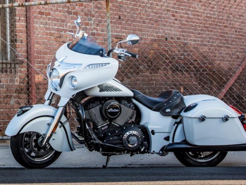 Information 2017 Indian MotorcyclesR ChieftainR White Smoke