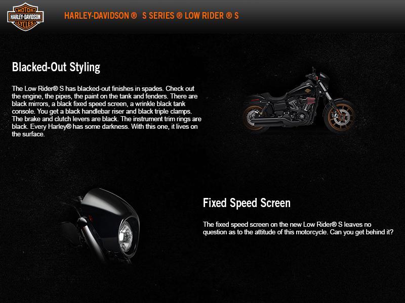 2017 Harley-Davidson® Low Rider® S | Powder Keg Harley-Davidson®