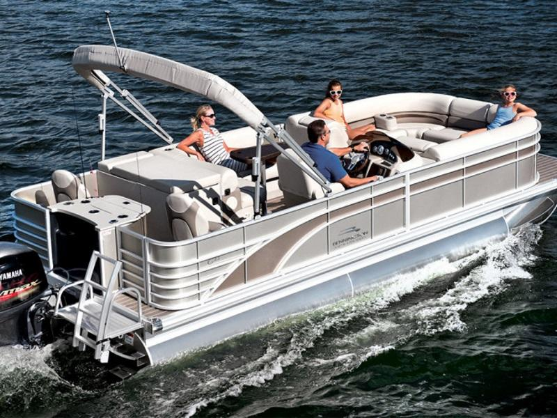 Used 2017 bennington pontoon boats for sale lake norman for Used fishing boats for sale in eastern nc