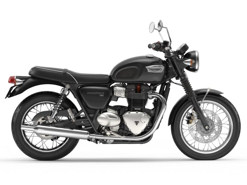 2017 Triumph Bonneville T100 Jet Black | Cross Country ...