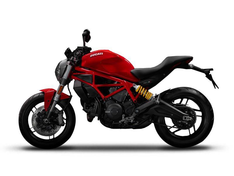 aab44bfe57d 2017 Ducati Monster 797 Ducati Red