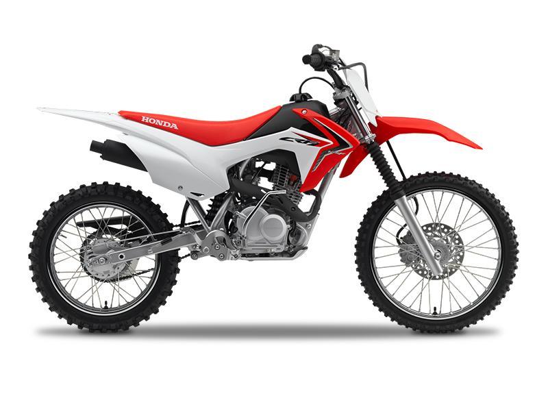 2018 honda® crf®125f (big wheel) stock: h0167 | hinshaw's