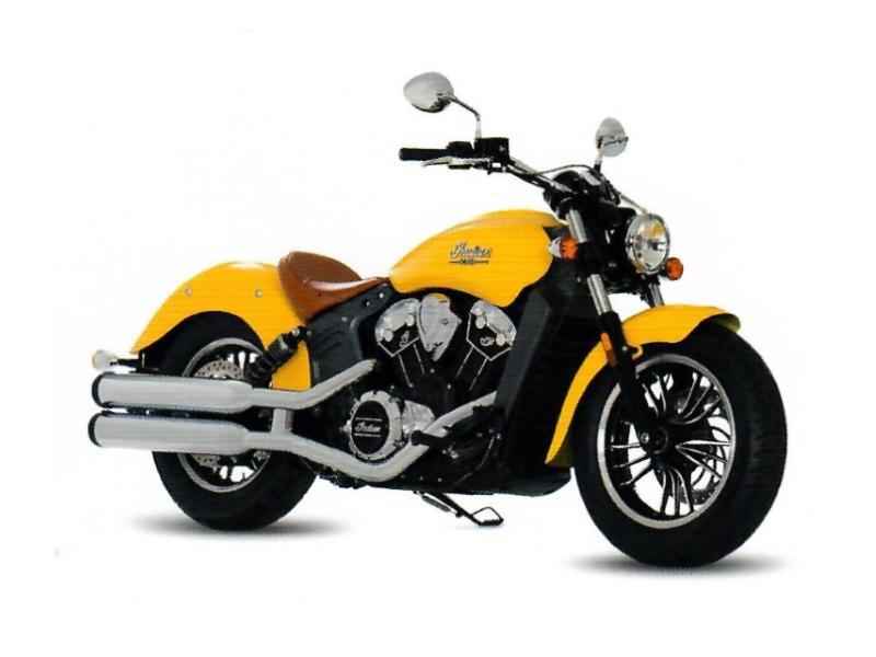 2017 Indian Motorcycle 174 Scout 174 Icon Solar Flare Yellow Indian 174 Motorcycle Of Orange County