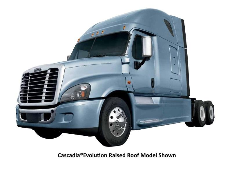 2017 Freightliner® Cascadia® Evolution Mid-roof 72