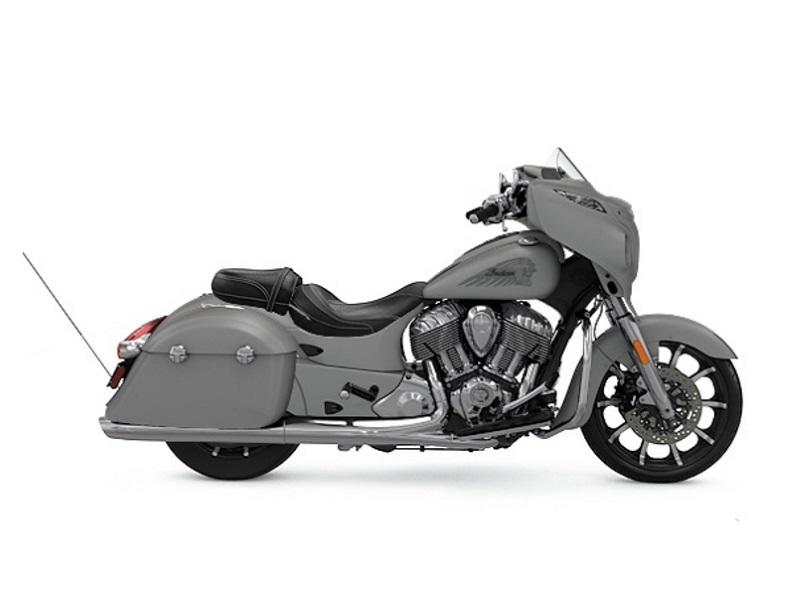 2017 Indian MotorcycleR ChieftainR Limited Silver Smoke