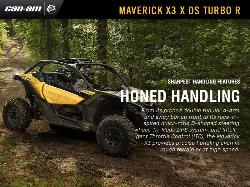 2018 Can-Am® Maverick™ X3 X™ DS Turbo R   Forest Power