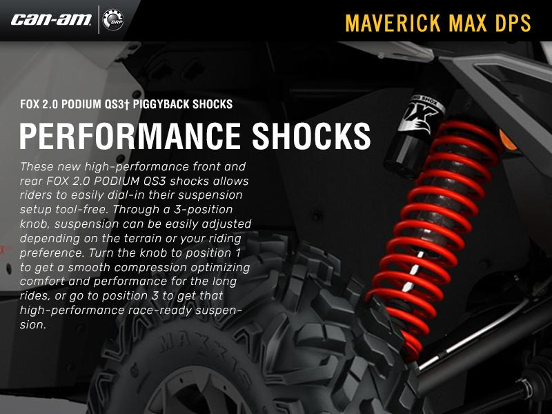 2018 Can-Am® Maverick™ MAX DPS™ 1000R | Forest Power Sports