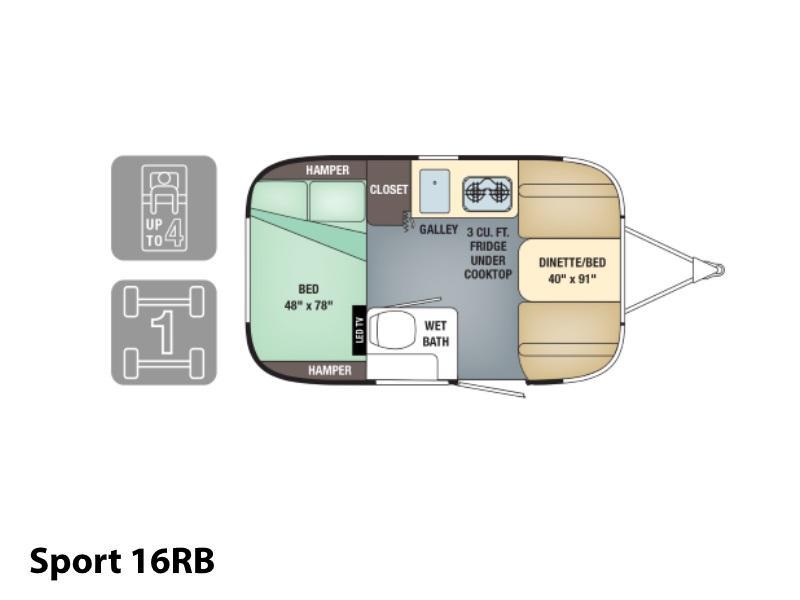 2018 airstream sport 16rb stock al18148 airstream los angeles rh airstreamlosangeles com Wiring a Vintage C&er