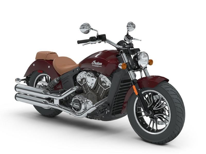 2018 Indian Motorcycle® Scout® ABS Burgundy Metallic Stock ...