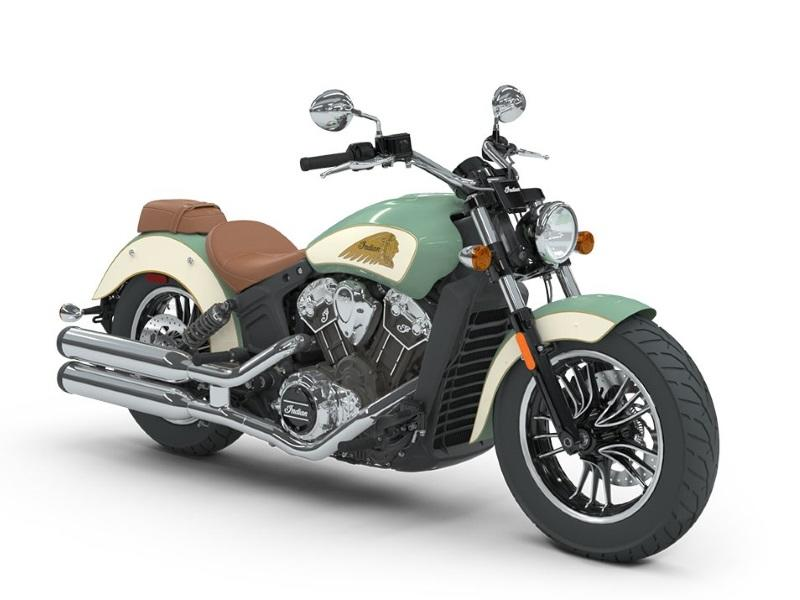Information 2018 Indian MotorcycleR ScoutR ABS Willow Green